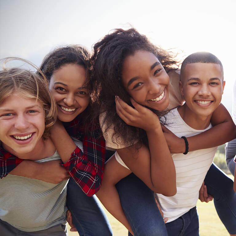 Soin dentaire adolescent